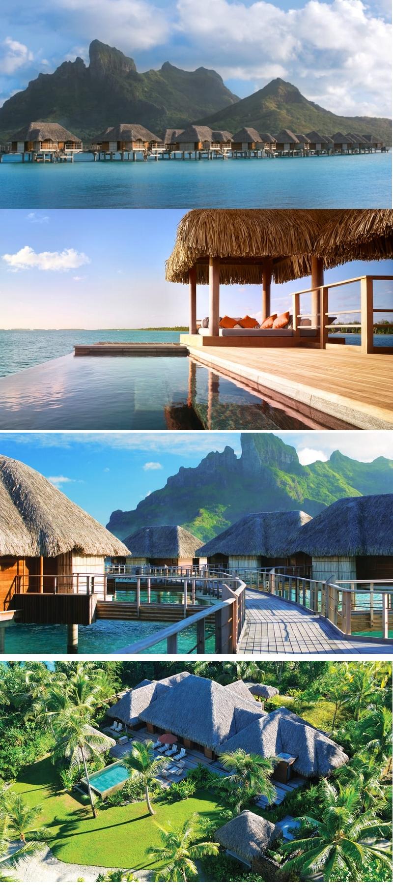 Four Seasons Resort Bora Bora - overwater suites