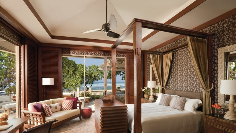 Four Seasons Resort Hualalai Presidential Villa Bedroom