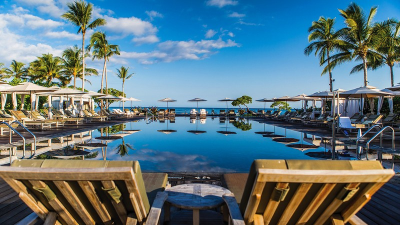 Four Seasons Resort Hualalai recognised the top resort in the United States-2017--