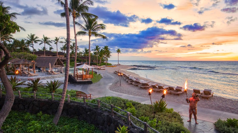 Four Seasons Resort Hualalai recognised the top resort in the United States-2017