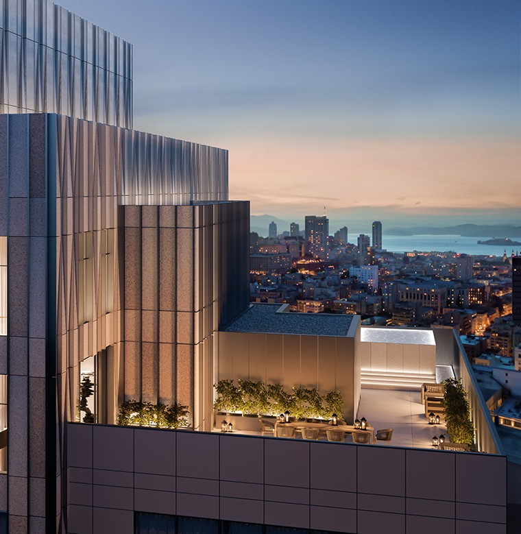 Four Seasons San Francisco Private Residences 2020-roooftop