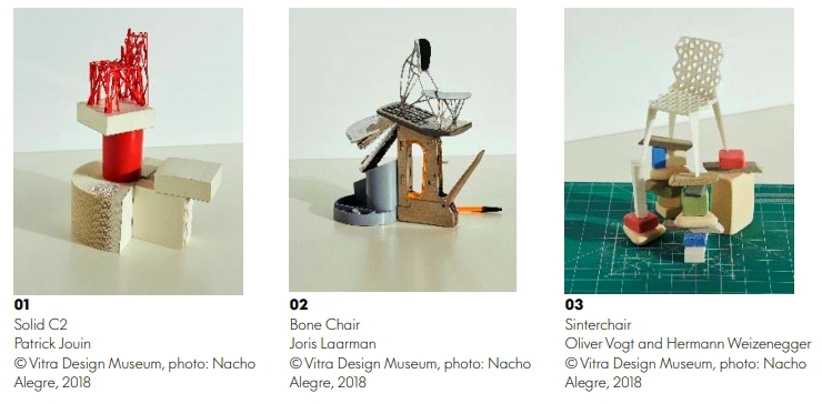 Four new miniatures of 21st century design icons presented by Vitra Design Museum