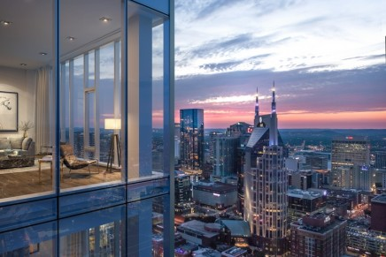Luxury Lifestyle in Tennessee: Four Seasons' new tower to become synonymous with Nashville's skyline
