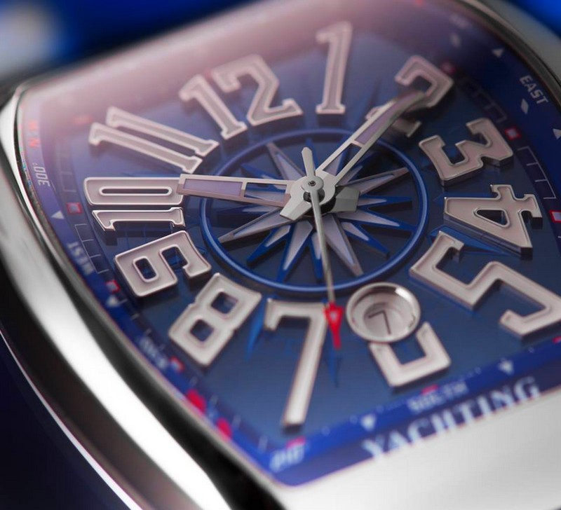 Franck Muller - The deep blue of the Vanguard Yachting, inspired by the marine depths