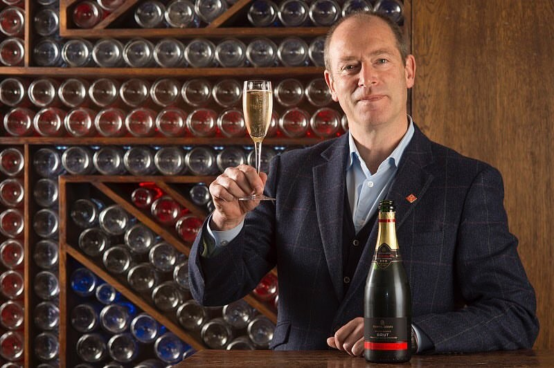 Frazer Thompson, CEO of English winemaker, Chapel Down