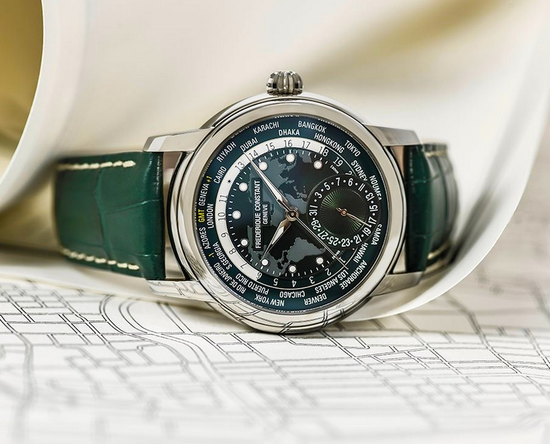 Frederique Constant 2018 PRE-BASELWORLD NOVELTY CLASSIC WORLDTIMER MANUFACTURE