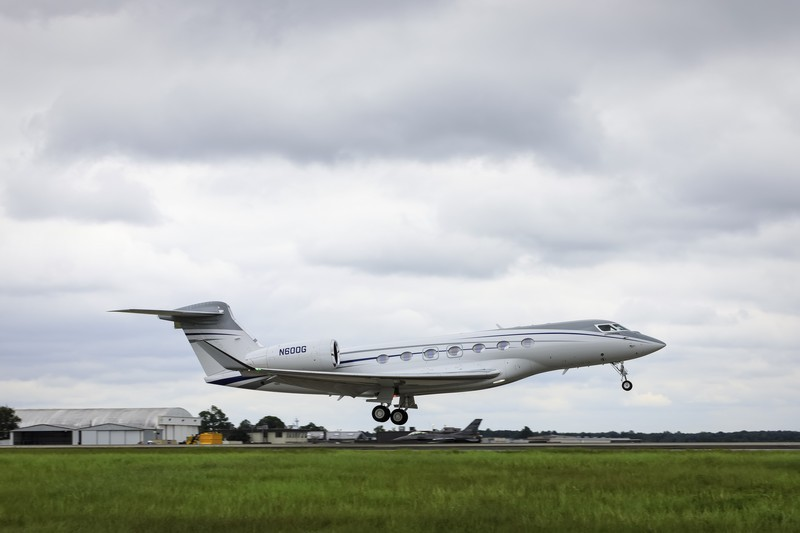 Gulfstream G600 production aircraft