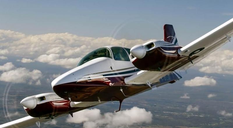 GA-7 Cougar light twin prop executive aircraft