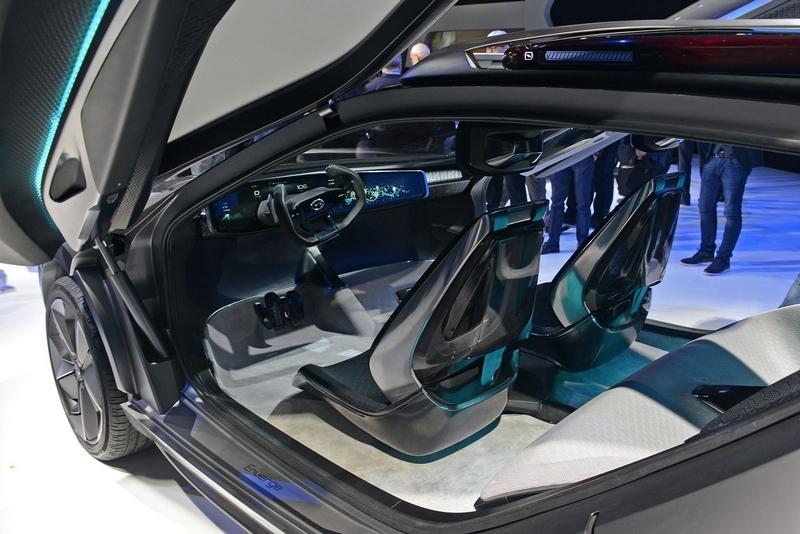 GAC Motor Enverge Concept Interior - 2018 NAIAS