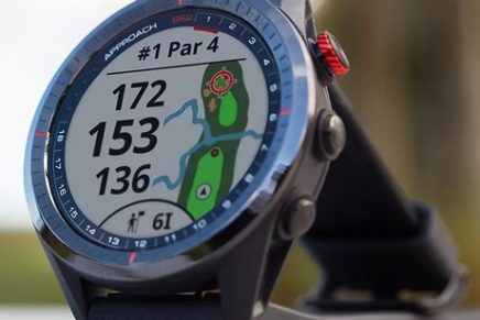 This new high-end golf smartwatch is a caddie that knows you and 41,000 courses worldwide
