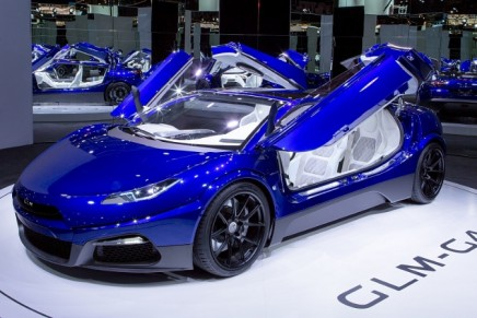 GLM's new EV supercar GLM G4 finally unveiled