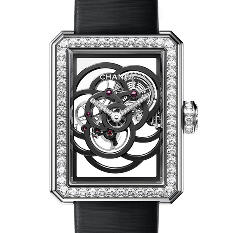 GPHG 2017 winners- Chanel Premiere Camelia Skeleton watch