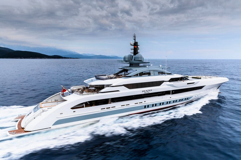 Galactica Super Nova 70.1m Builder Heesen Yachts