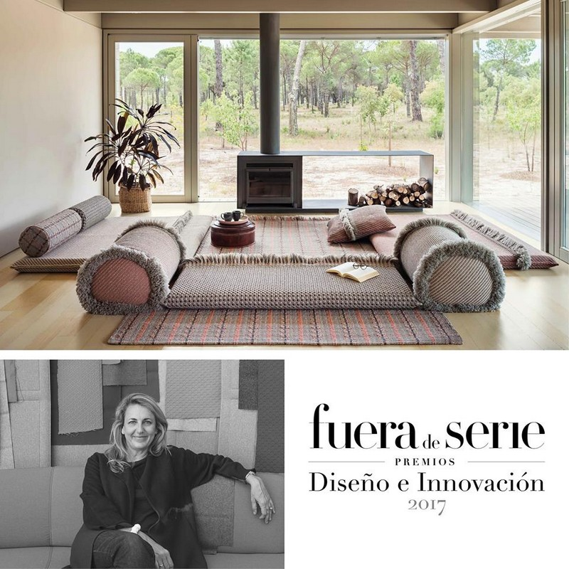 Garden Layers from Patricia Urquiola has just won a Design and Innovation Award from Fuera de Serie magazine