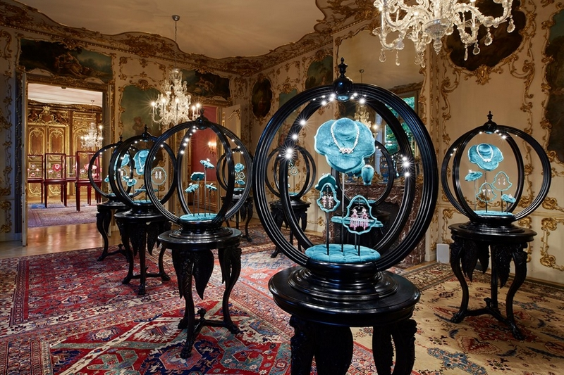Garden of Delights the first Gucci High Jewelry collection by Alessandro Michele on display at Hôtel de La Salle, Paris 2019 July-