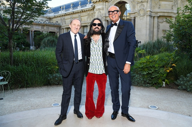 Garden of Delights the first Gucci High Jewelry collection by Alessandro Michele on display at Hôtel de La Salle, Paris 2019 July-01