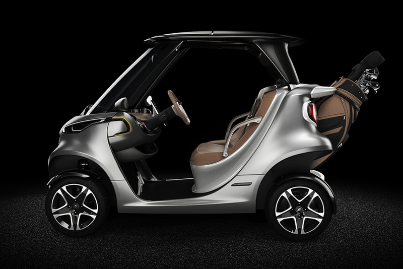 Garia Golf Car inspired by Mercedes-Benz Style - gallery