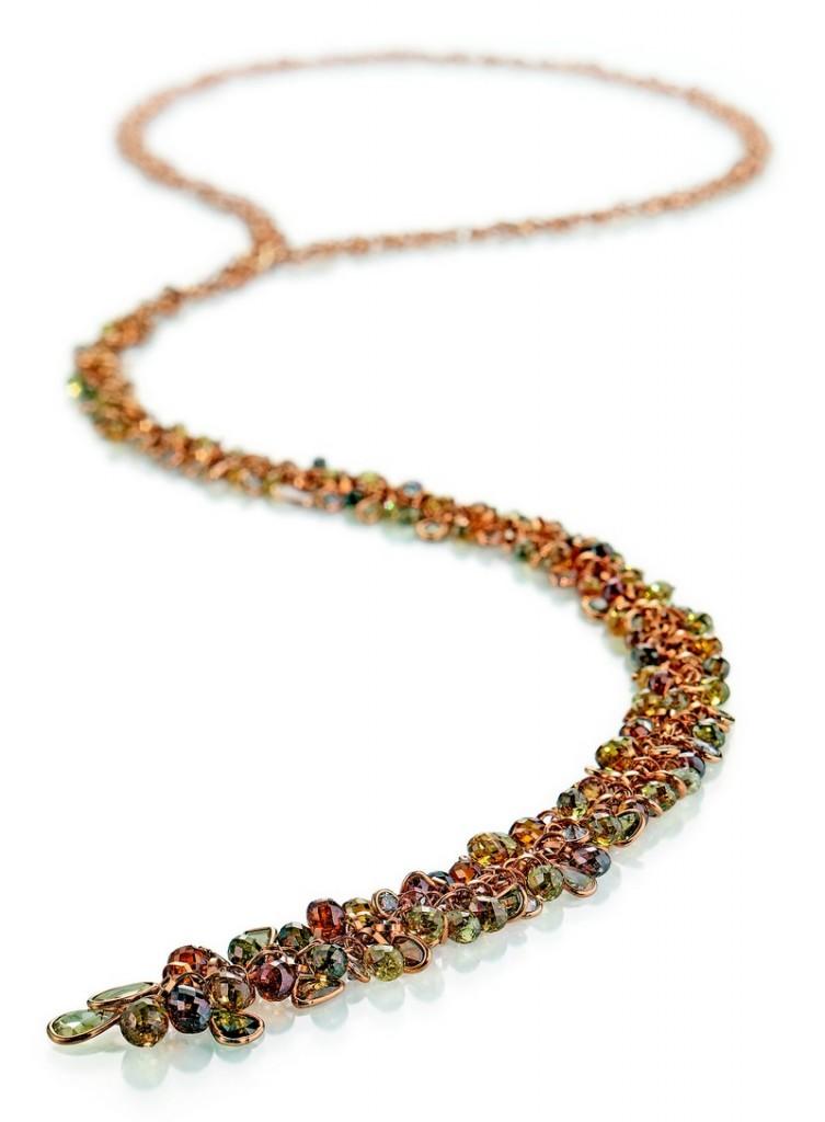 Gellner Boheme necklace at 2017 Baselworld