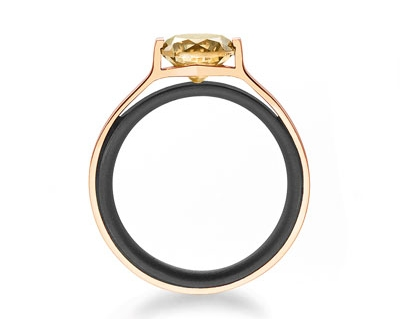 Gellner Brave Star Solitaire Ring-