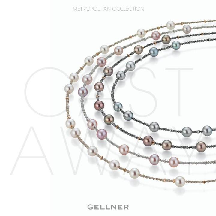 Gellner The popular Castaway line from GELLNER Metropolitan now also features delightful short, delicate necklaces
