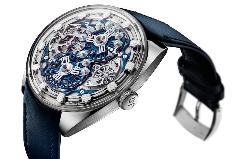 Genus GNS1.2 marks the advent of a new kind of creative Haute Horlogerie - details -2019