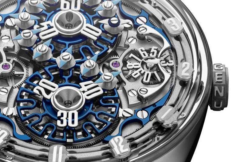 Genus GNS1.2 marks the advent of a new kind of creative Haute Horlogerie - details