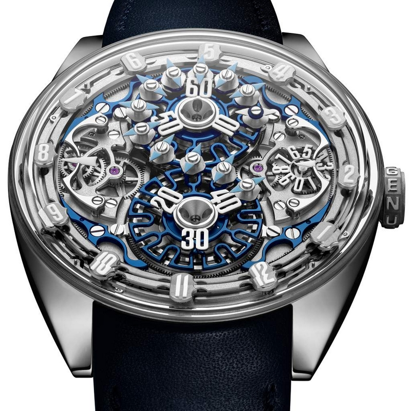 Genus GNS1.2 marks the advent of a new kind of creative Haute Horlogerie