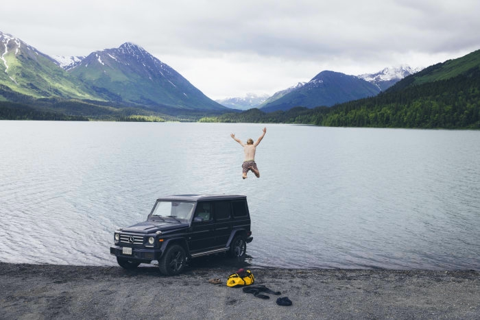German Roamers, the photographic collective, for Mercedes-Benz x The North Face-
