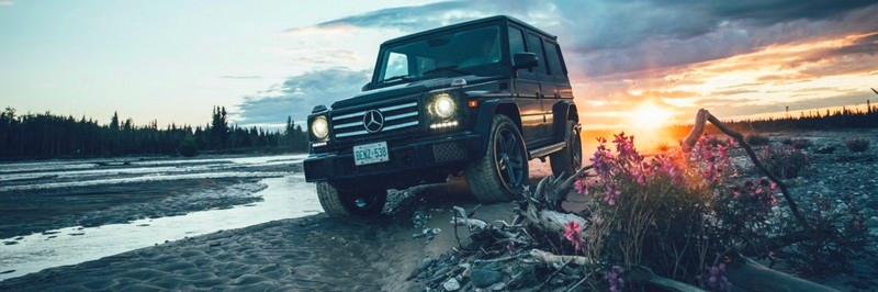 German Roamers, the photographic collective, for Mercedes-Benz x The North Face
