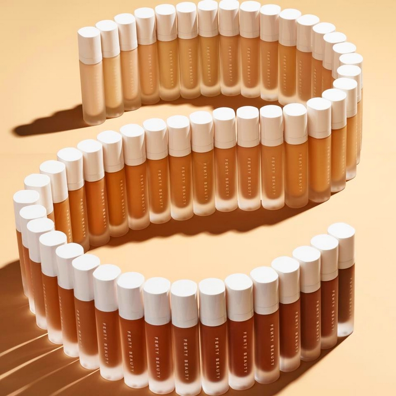 Get ready for that summertime heat in 50 shades of Fenty Beauty PRO FILT'R FOUNDATION