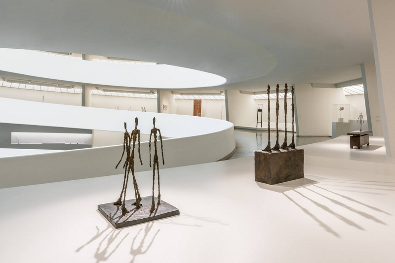 Giacometti on view at the Solomon R. Guggenheim Museum