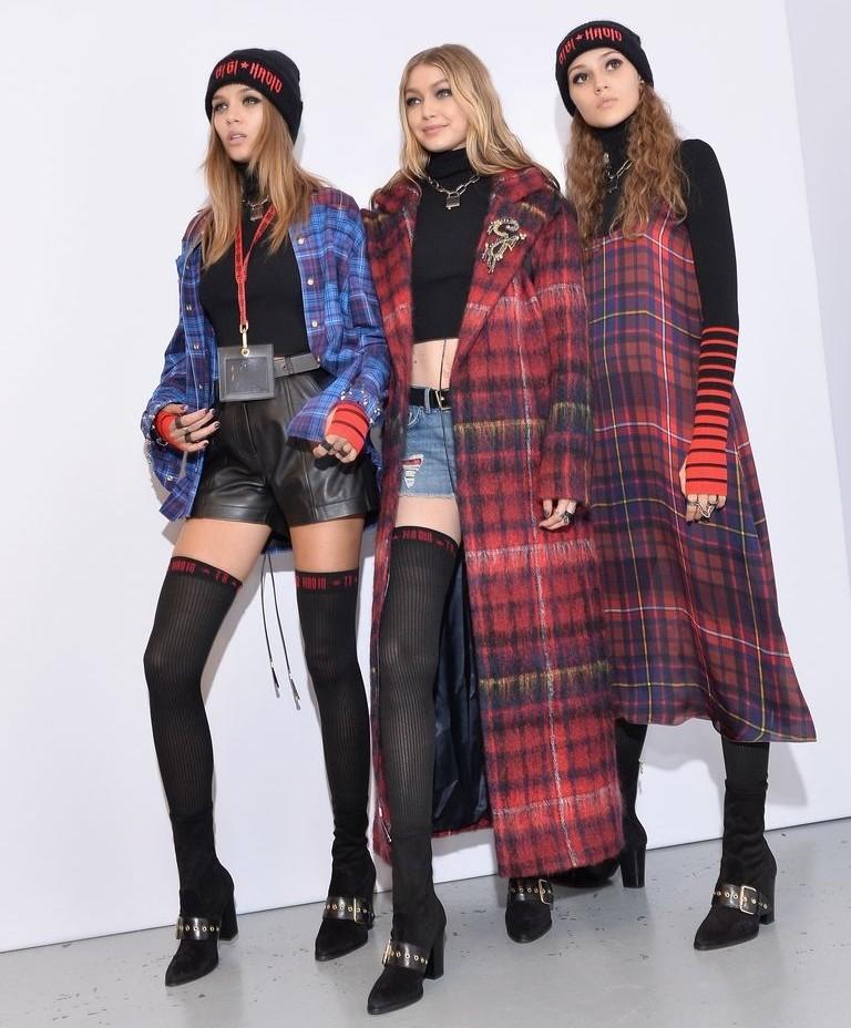 Gigi Hadid and Tommy HIlfiger show - London Fashion Week 2017