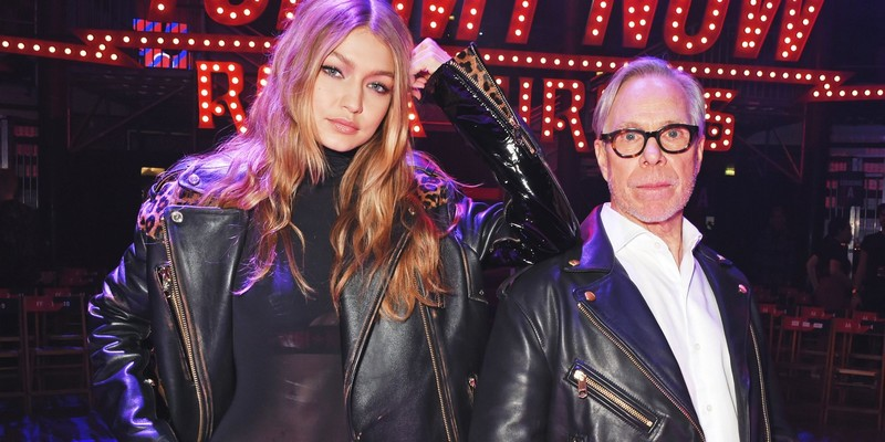 Gigi Hadid and Tommy