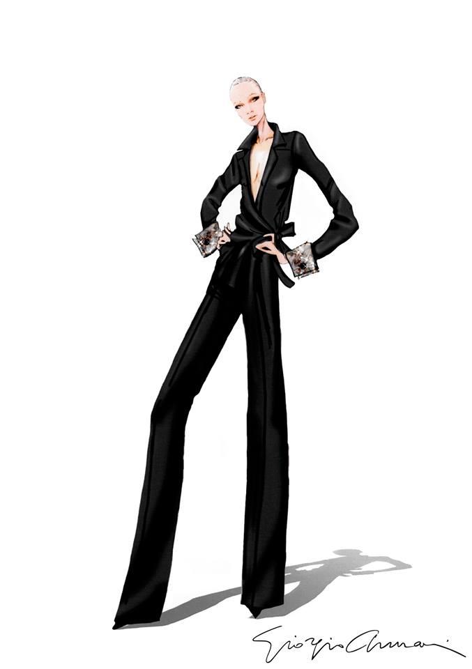 Giorgio Armani's womenswear - NET-A-PORTER