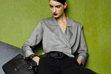 How to add flair and polish to any outfit: Giorgio Armani Borgonuovo Bag