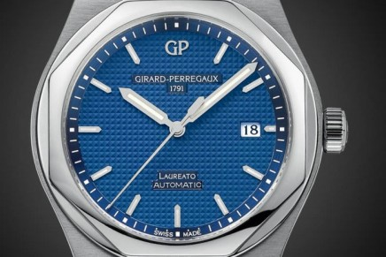 Girard-Perregaux returned to its iconic Laureato and the original design premise
