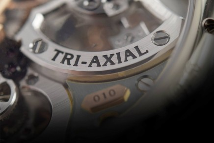 Girard-Perregaux Tri-Axial Tourbillon Limited Edition – a high-speed tourbillon on three separate axes