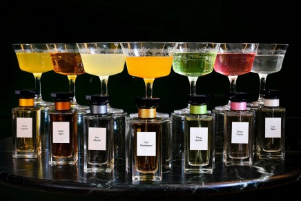 Marrying the world of fragrance and flavour in a drinkable form of L'Atelier de Givenchy