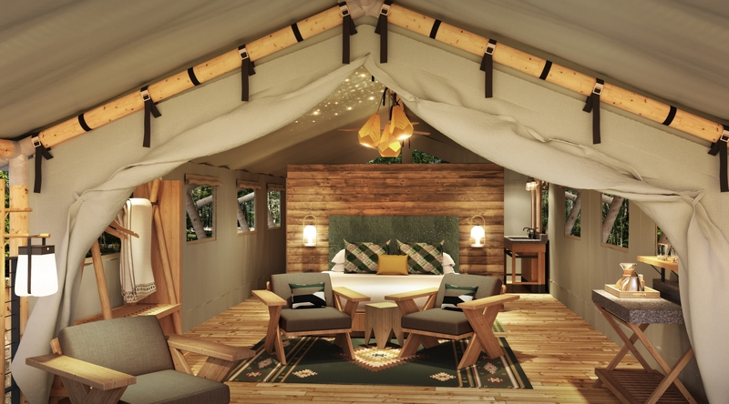 Glamping North America - The 64 Terramor Bar Harbor luxury canvas tents