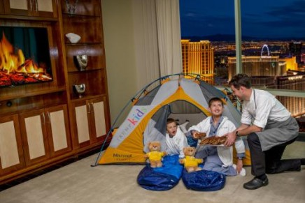 Glamping for kids. Trump style