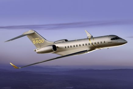 The ultimate business tool: Spacious, long-range Global 5500 Business Jet enters into service