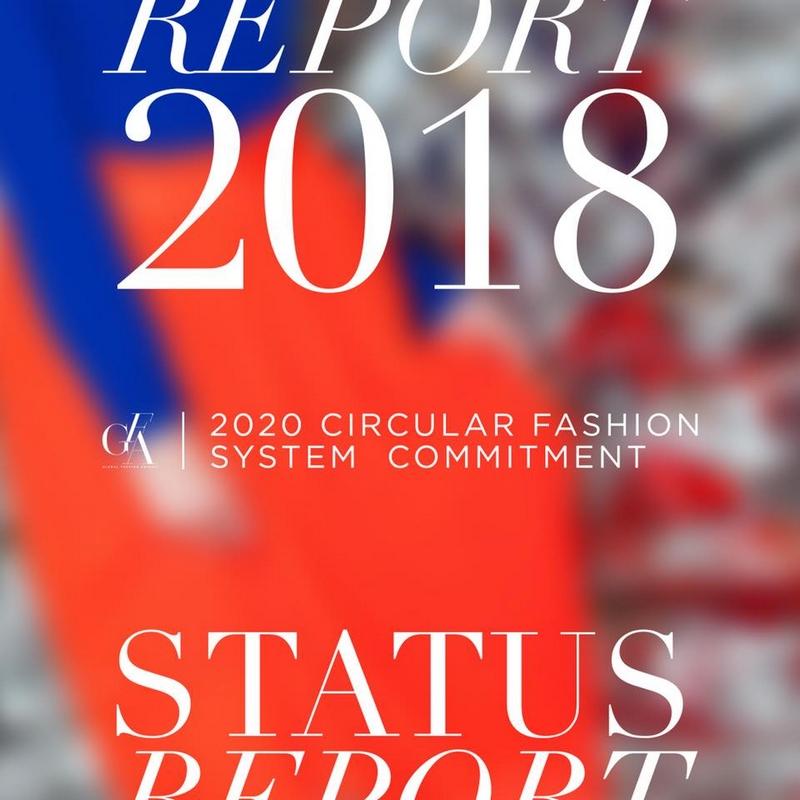 Global Fashion Agenda 2018 Report cover