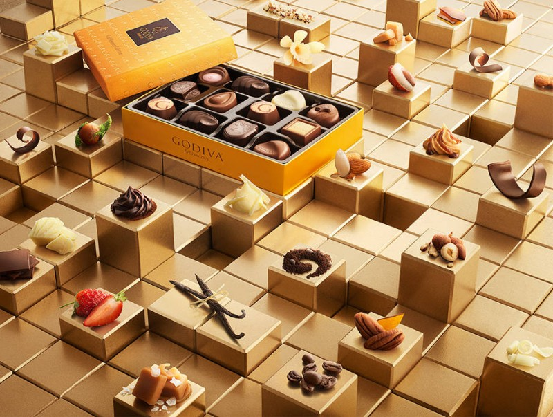 Godiva Gold Discovery 2017 collection-