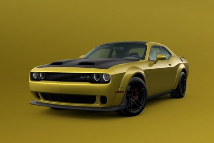 Dodge//SRT is brightening things up this winter by bringing back Gold Rush