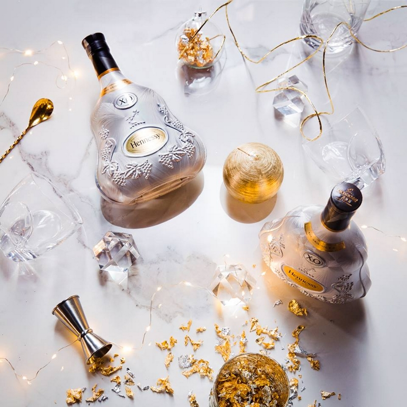 Gold, silver and the new Hennessy X.O Limited Edition bottle
