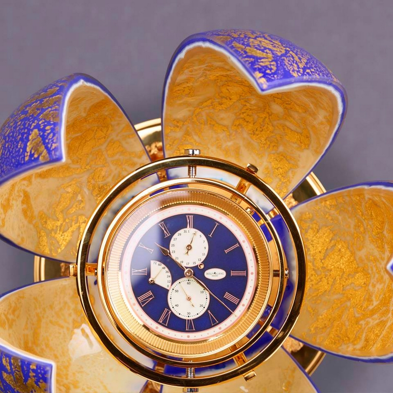 Golden H by Rolf Lang Dresden is the most exclusive marine chronometer in the world-photos