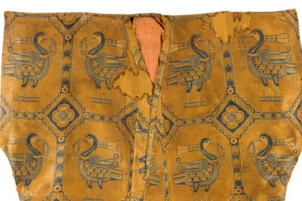 1,000-year-old silk shirt expected to fetch £500,000 at auction
