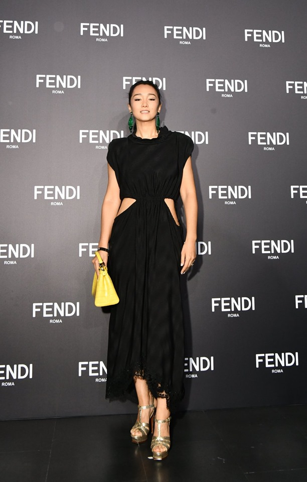 Gong Li at the Women's and Men's Fall-Winter 2019-2020 Collections Show in Shanghai