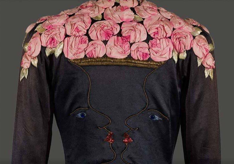 Google We wear Culture - 1937 Elsa Schiaparelli art-deco evening coat Victoria and Albert Museum