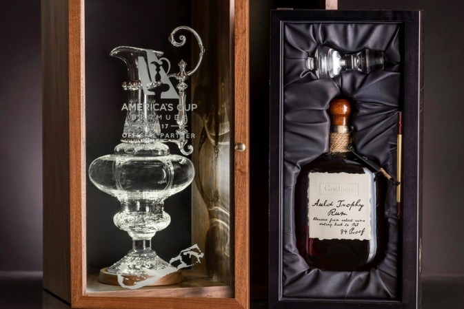 This is The World's most Elaborate Rum Package. Rum A Half Century Old Is Only Half The Story.